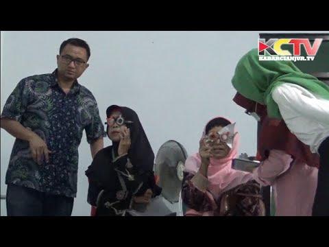 KABARCIANJUR.TV | LKNU Cianjur Baksos Pemeriksaan Mata Gratis