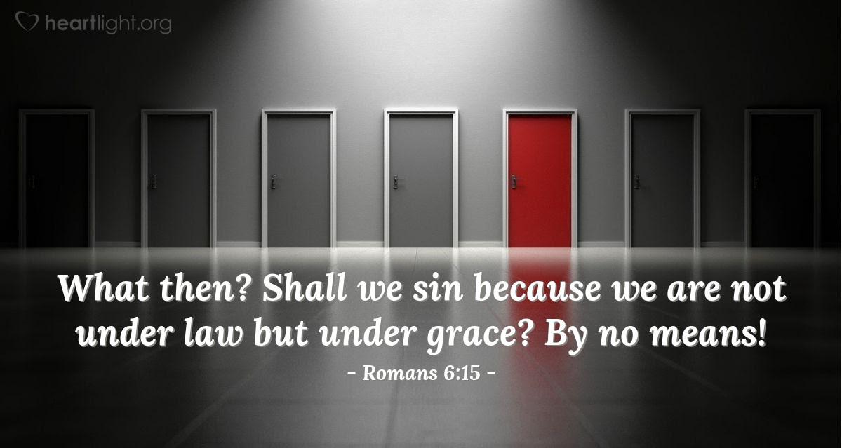 Illustration of Romans 6:15