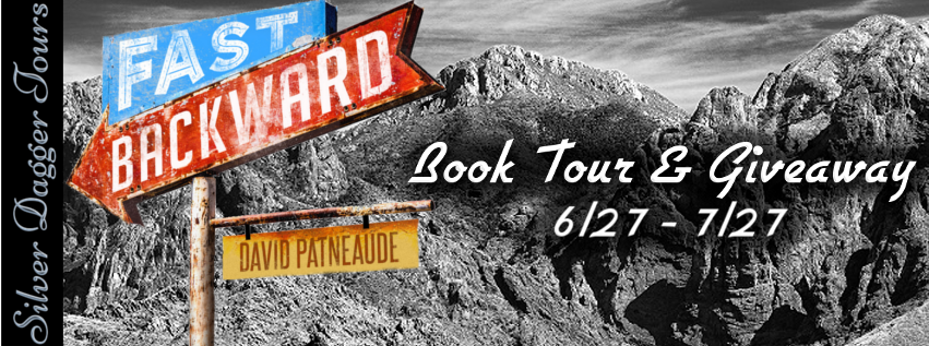 Book Tour Banner for Fast Backward by David Patneaude