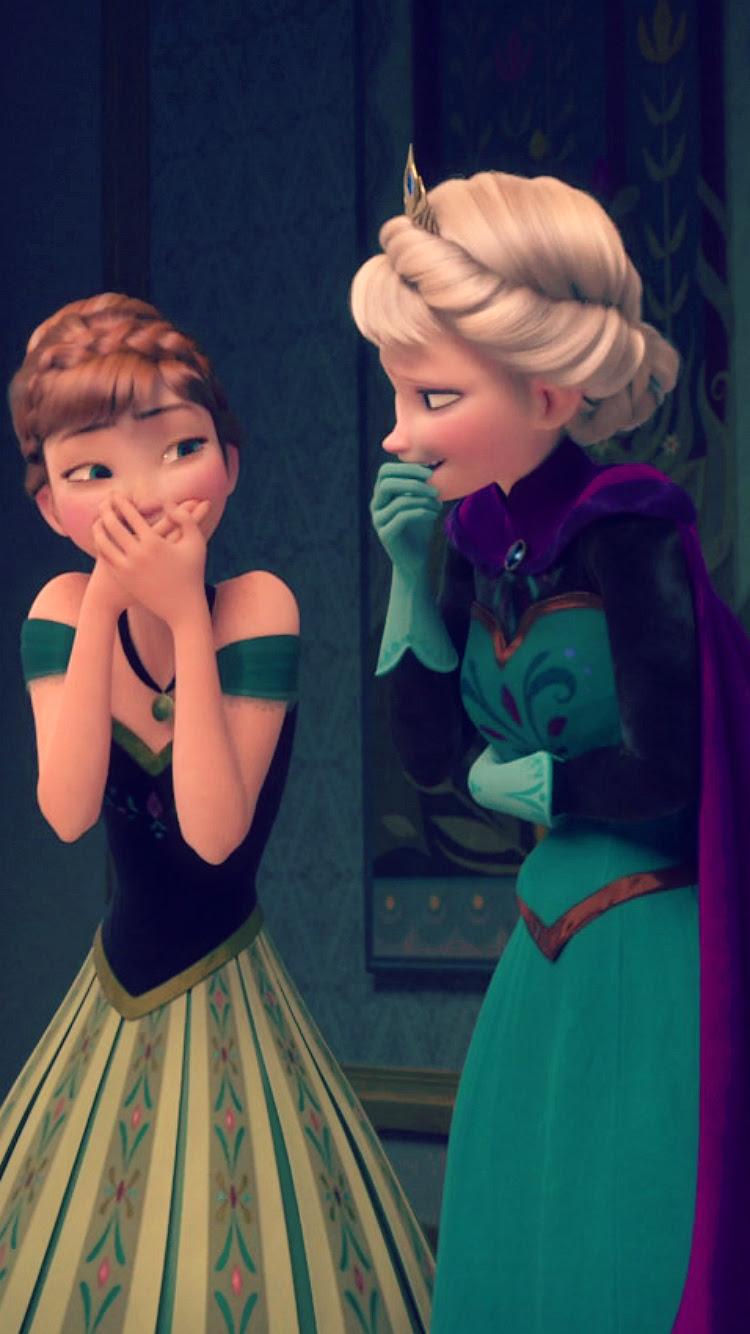 Frozen Elsa And Anna Phone Fondo De Pantalla Frozen Foto