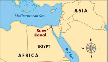 Canal De Suez Mapa Fisico Africa.Canal De Suez Mapa Fisico Mapa