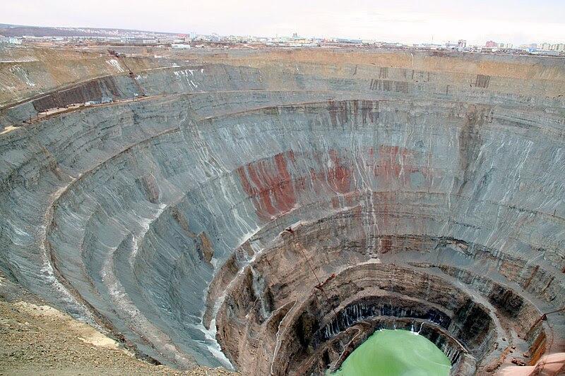 The Mir mine in Yakutia