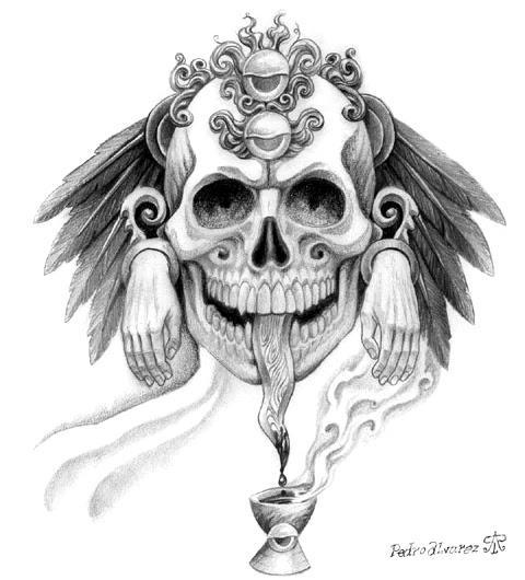 evill tattoo: mexican art tattoos