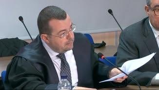 """L'advocat de Diego Torres, Manuel González Peeters, aquest dimecres al judici del """"cas Nóos"""""""
