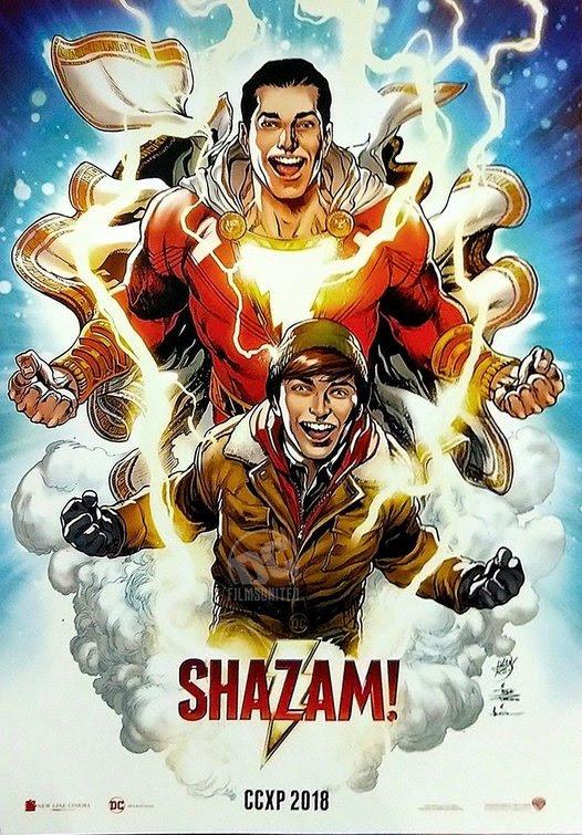1b56fc901af Shazam Movie Poster 2 Of 3 Imp Awards