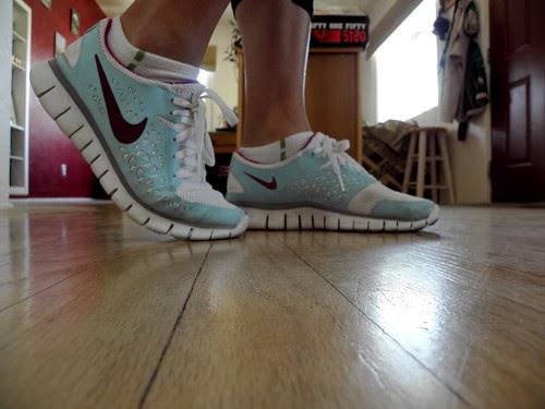Nike Free+ side