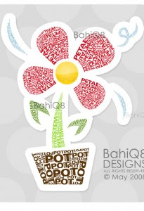 flower_typography_by_bahiq8-205x300