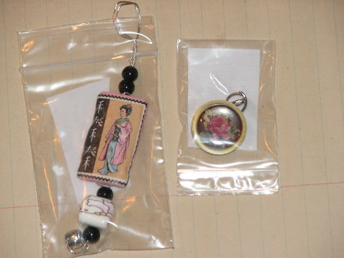Ink Stains March Charm n ATC Swap 057