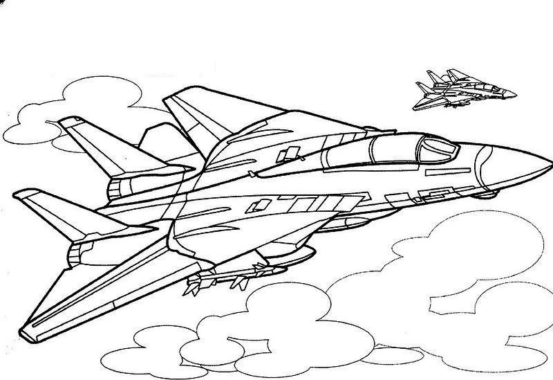 Dibujos De Un Avion