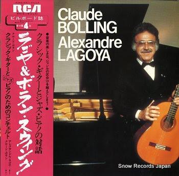 BOLLING, CLAUDE & ALEXANDRE LAGOYA concerto pour guitare(classique) et piano(jazz) de claude bolling