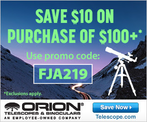 Save $10 off on Orion orders over $100