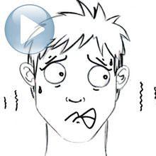 Aprender A Dibujar Dibujar Una Expresión Facial El Miedo Es
