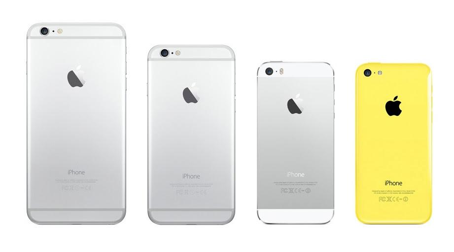 iPhone 6 vs 5 design