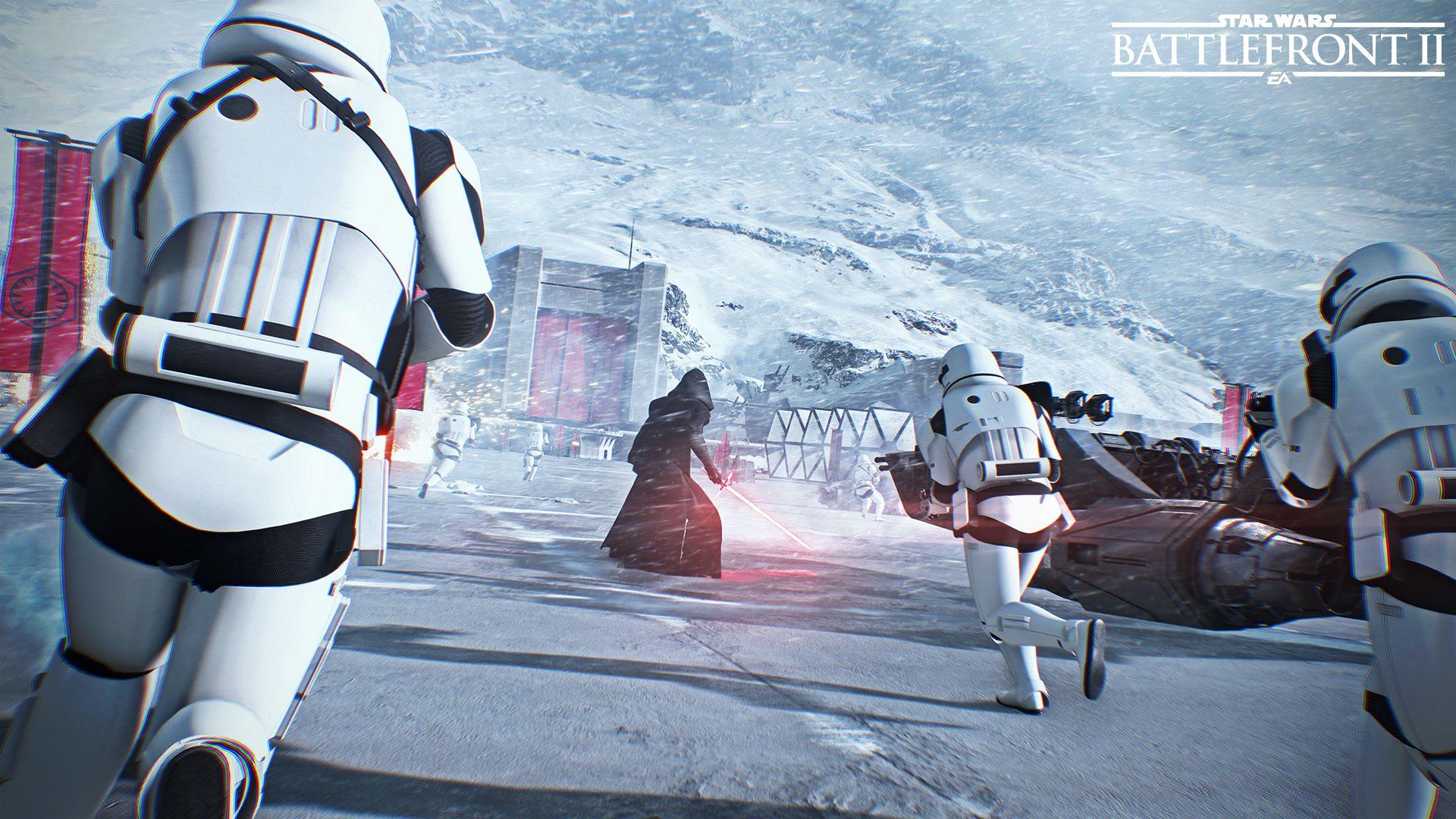 Star Wars Battlefront 2 gameplay video leaks online screenshot