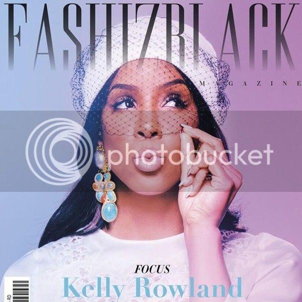 Kelly Rowland covers 'Fashizblack'...