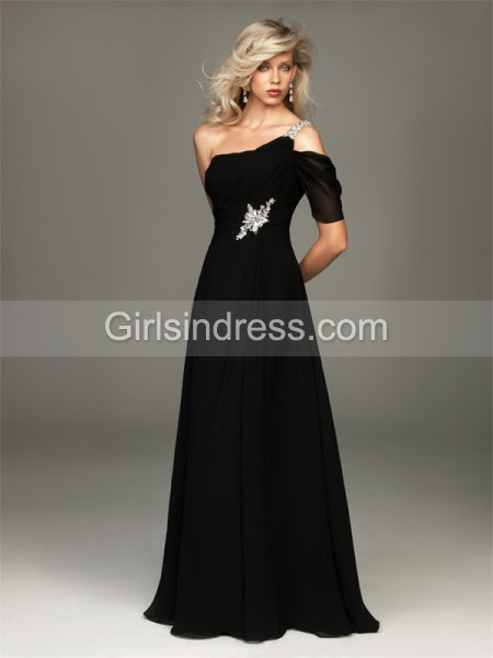 Black velvet evening dresses