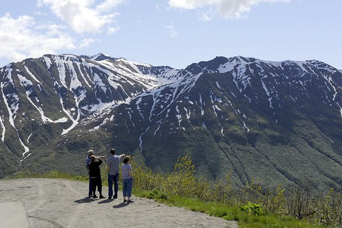 Mountains Around Hatcher Pass Road by RV Bob