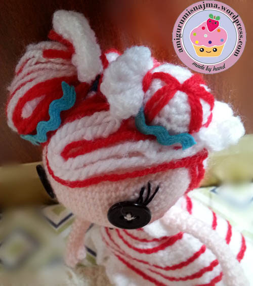 lalaloopsy mint e stripes crochet doll amigurumi-10