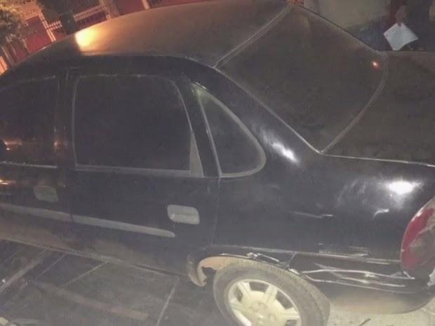 Trio é detido suspeito de roubar carros em Goiânia, Goiás (Foto: Reprodução/TV Anhanguera)