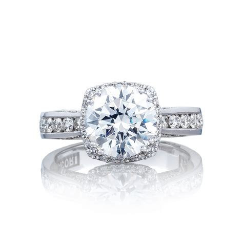 Round brilliant center diamond engagement ring   DK Gems