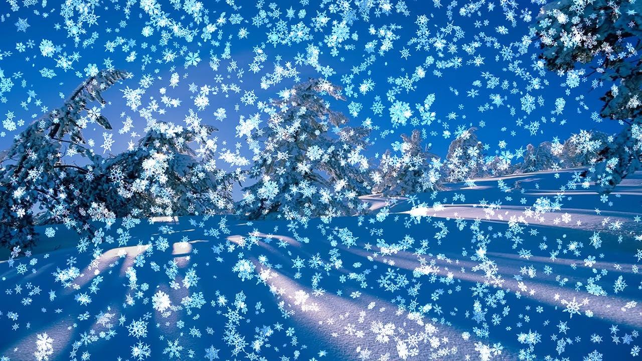 Animated Wallpaper Snowy Desktop 3d Celebratory Dance 3d Snowflakes On Your Desktop