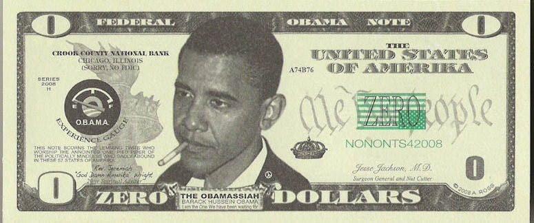 The Obama Dollar