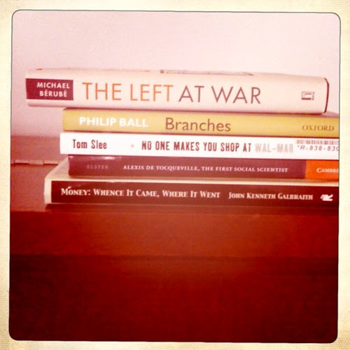 Chris's Read-a-Thon stack