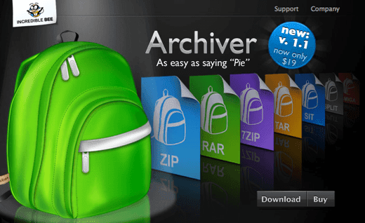 rar archives mac