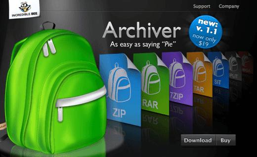 rar archives mac