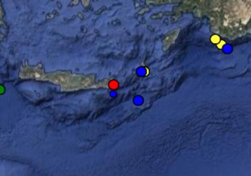 Σεισμός τώρα στη Σητεία - Αισθητός σε ολόκληρη την Κρήτη!