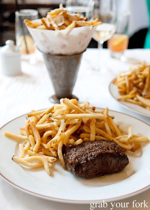 flat iron steak at bouchon bistro beverly hills la los angeles