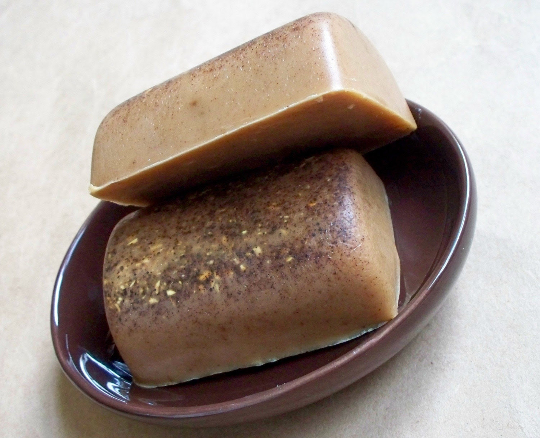 Pumpkin Spice Goats Milk Soap- Handmilled