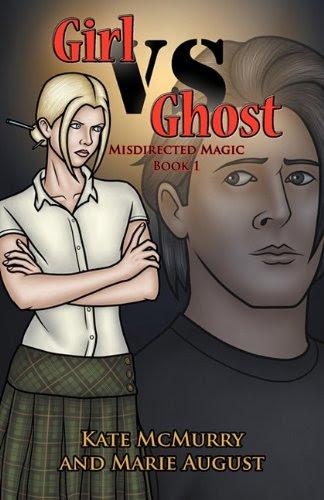 Girl vs Ghost (Misdirected Magic Trilogy, #1)
