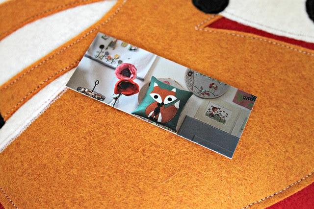Fox mini card