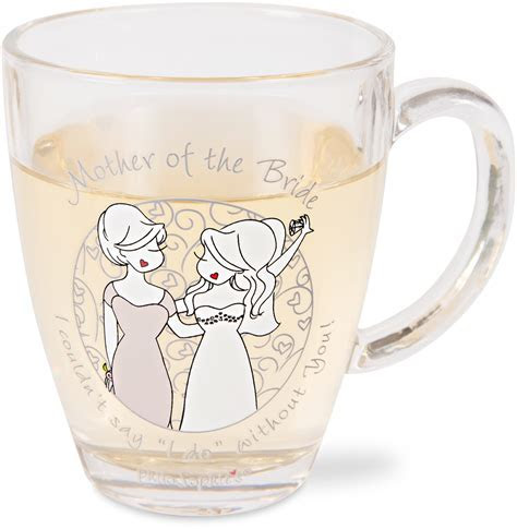 Mother of the Bride, 12.5oz Glass Cup   philoSophies