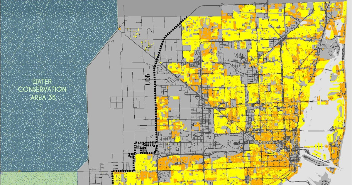 miami dade county city boundary map