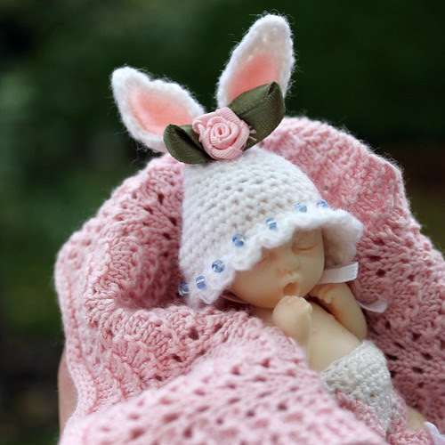 Zoe's Bunny Hat