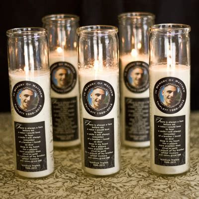 Memorial Candles   Party Inspiration