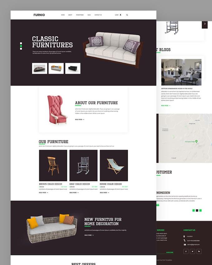 Furnio – Furniture HTML Template