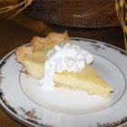 Grandma's Egg Custard Pie Recipe