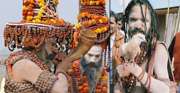 Kumbh Mela Day 2: The day was all about the Sadhus and Nagas grabbing attention of the devotees