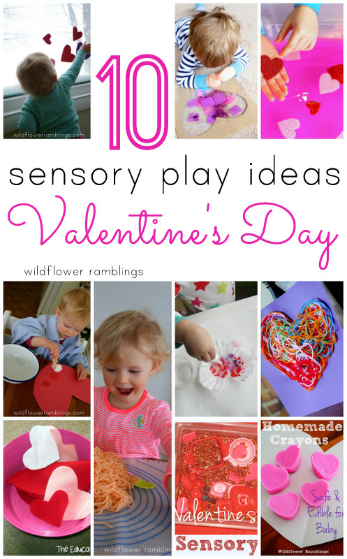 Top Ten Sensory Play Ideas For Valentines Day Wildflower Ramblings