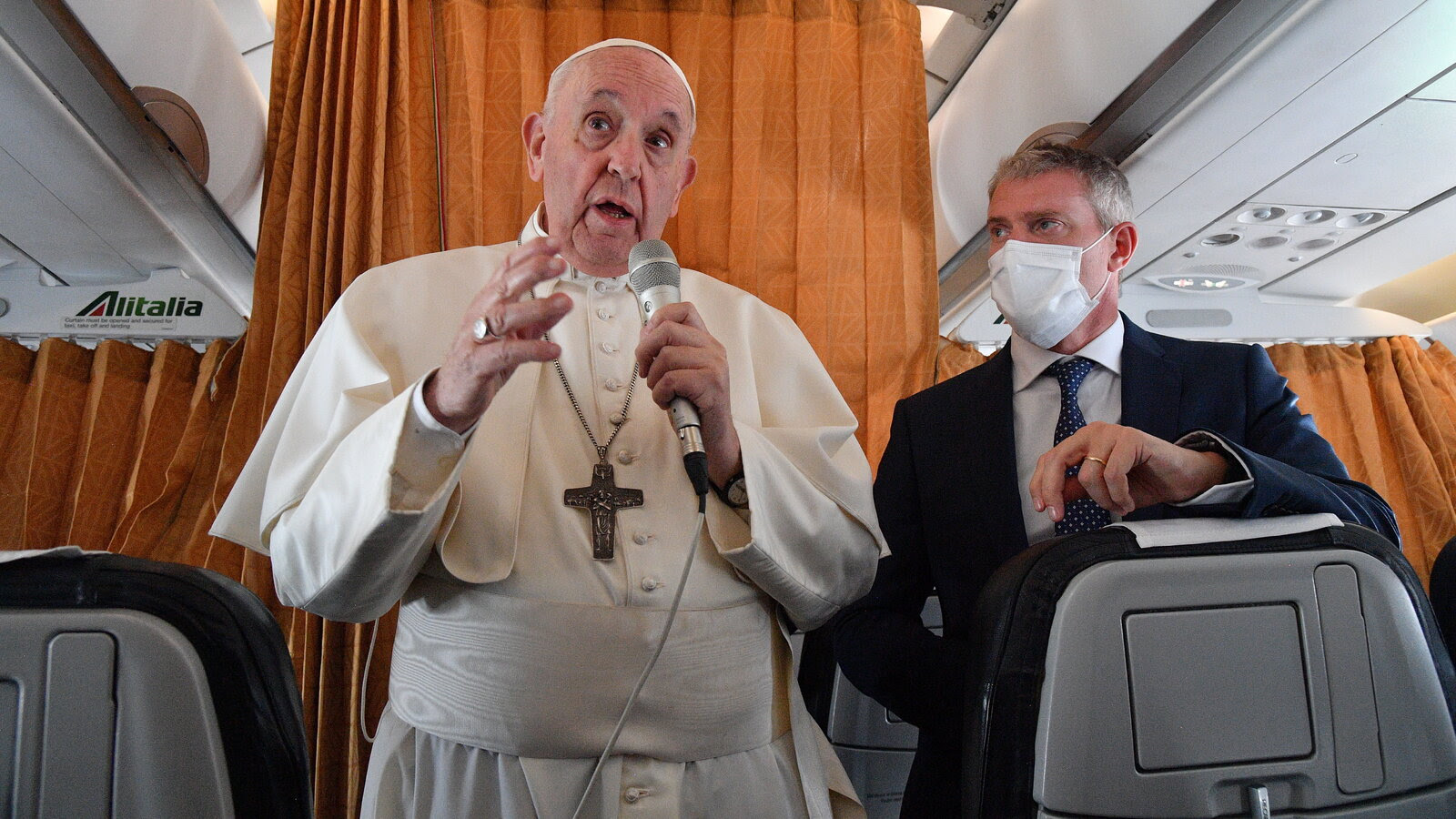 Pope Francis Weighs In on Calls to Deny Communion to Biden Over Abortion