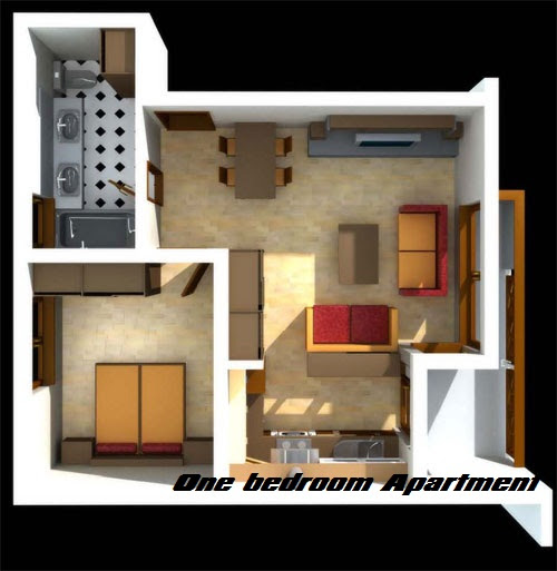 Studio 1 Bedroom Apartments