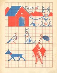 n2 cahier dessin carreau p23
