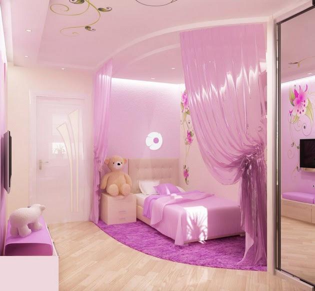 Small Kids Bedroom Design For Girls