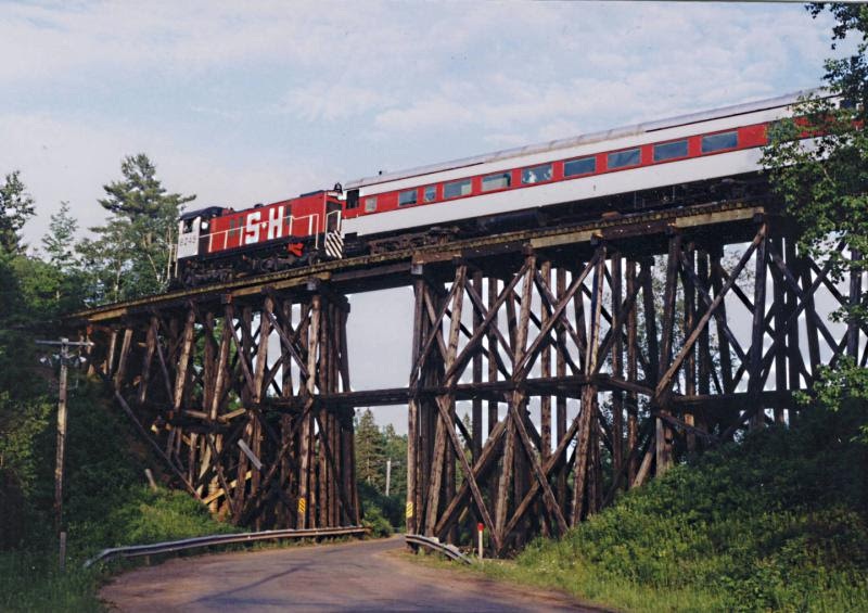 Hiram Creek trestle