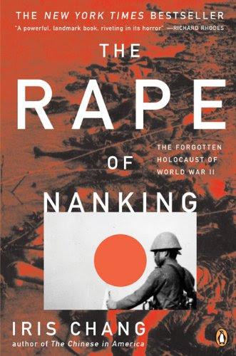 Rape of Nanking book cover art