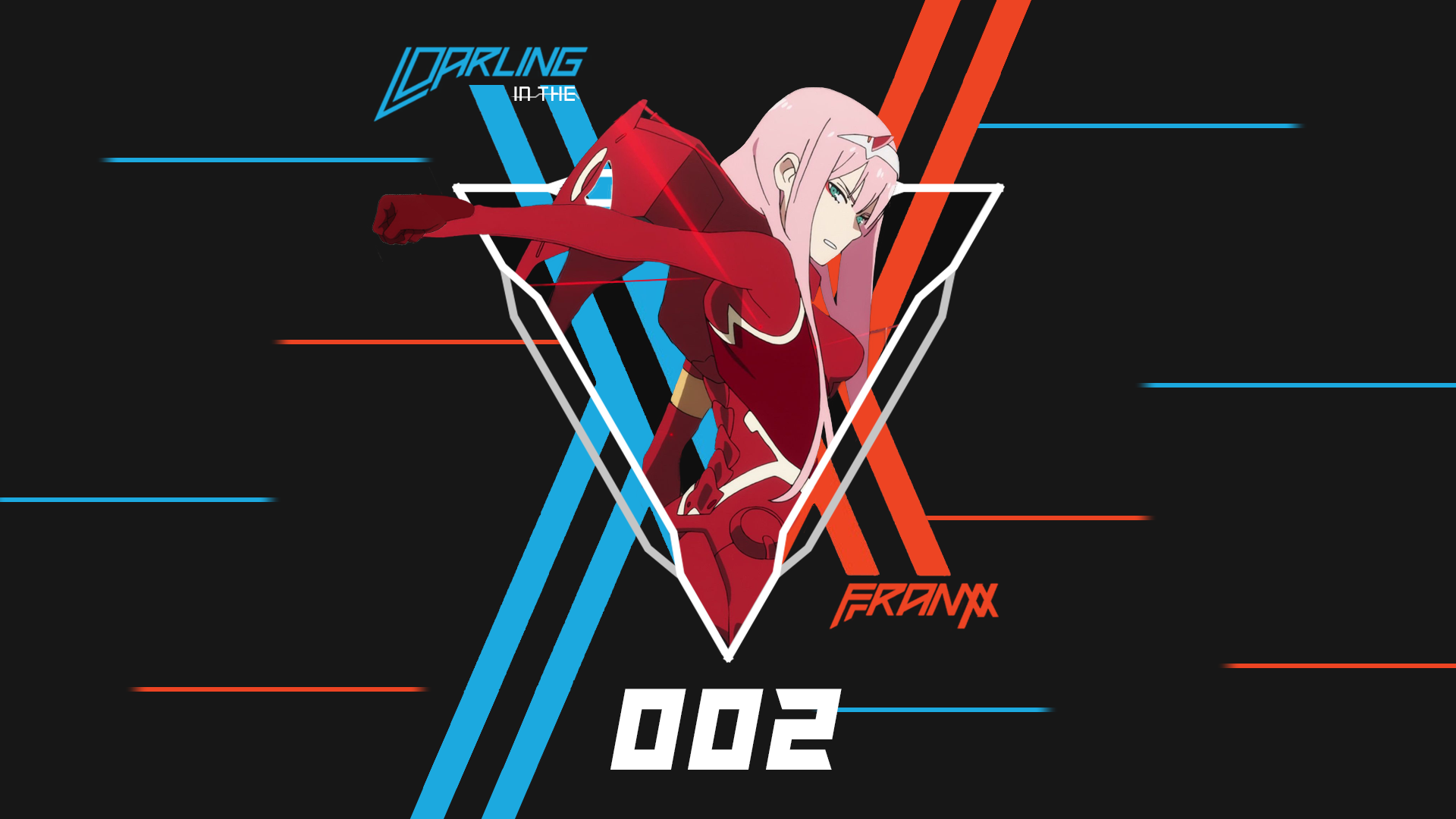 Darling In The Franxx Wallpaper 1920x1080 Posted By Zoey Simpson