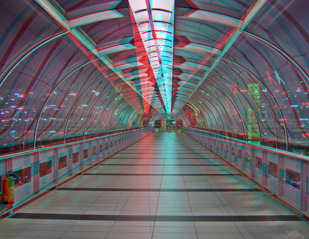 Skywalk ANAGLYPH HDR 3D by
